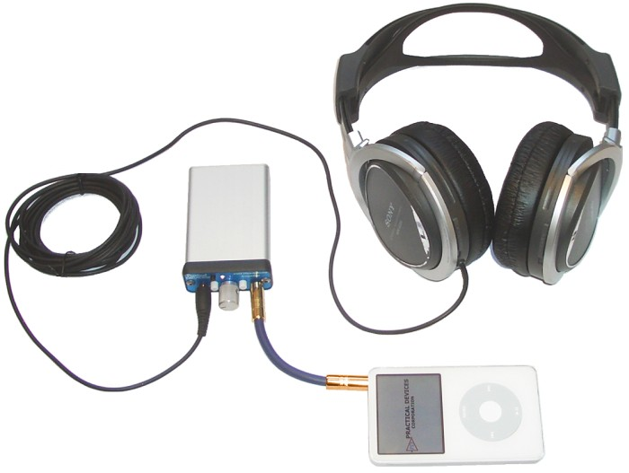 XM4 mated to full mp3 system