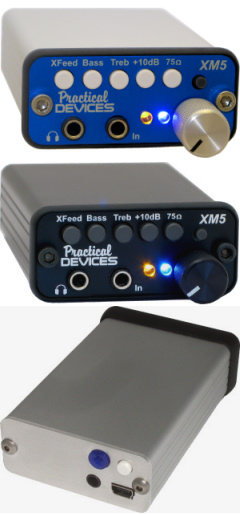 XM5 Portable Headphone Amplifier