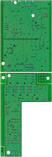 XM6 controlled-impedence Printed Circuit Board