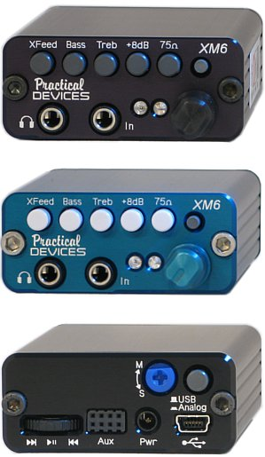 XM6 Portable Headphone Amplifier